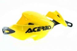 Acerbis Handbary RALLY II z mocowaniami żółte