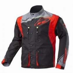 KENNY KURTKA OFF-ROAD TRACK  GREY RED