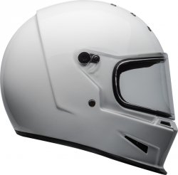BELL KASK INTEGRALNY  ELIMINATOR SOLID WHITE