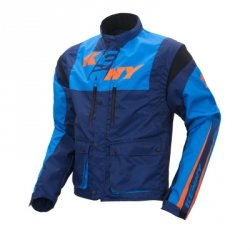KENNY KURTKA OFF-ROAD TRACK CYAN/NAVY/ORANGE