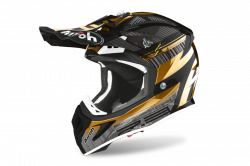 AIROH KASK OFF-ROAD AVIATOR 2.3 AMS2 NOVAK CH GOLD