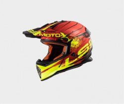 KASK LS2 MX437 FAST GATOR RED