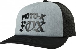 FOX CZAPKA Z DASZKIEM LADY MOTO X HEATHER GRAPHITE