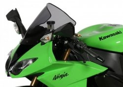 Szyba MRA KAWASAKI ZX 10 R / ZX 6 R / ZX 636 R 2008-2010 forma - R0 (bezbarwna)