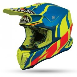 KASK OFF-ROAD AIROH TWIST GREAT AZURE MATT