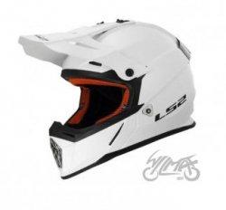 KASK LS2 MX437J JUNIOR FAST MINI SOLID WHITE