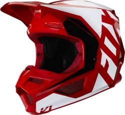 FOX KASK OFF-ROAD JUNIOR V-1 PRIX FLAME RED