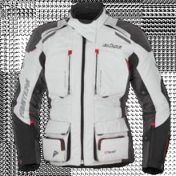 BUSE Kurtka motocyklowa Adventure PRO-STX szara