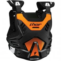 THOR BUZER YOUTH SENTINEL GP S16Y BLACK/ORANGE =$