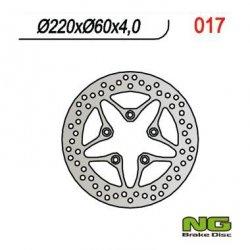 NG017 TARCZA HAMULCOWA APRILIA SCARABEO/LEONARDO 50/125/150/200 (220X60X4)