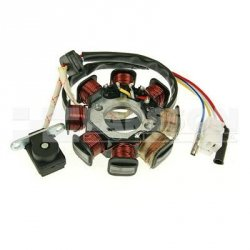 Stojan alternatora QMB 139 1294017 Aiyumo Capri 50, Buffalo/Quelle RS, YY50QT-11 50, Baotian BT49QT