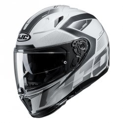 HJC KASK INTEGRALNY I70 ASTO WHITE/BLACK