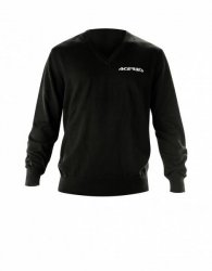 Acerbis Sweter 100% bawełna czarny