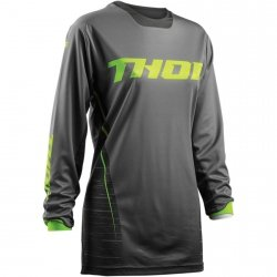 THOR BLUZA OFFROAD WOMENS PULSE DASHE GRAY/LIME =$