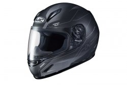 HJC KASK JUNIOR CL-Y TAZE BLACK/GREY