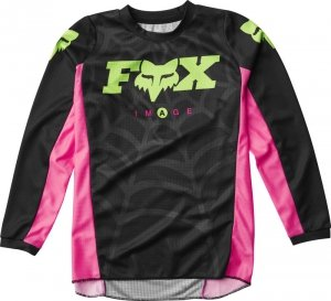 FOX BLUZA OFF-ROAD JUNIOR 180 VENIN BLACK