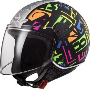 KASK LS2 OF558 SPHERE LUX CRISP BL. H-V YELLOW