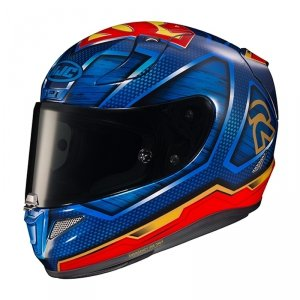 HJC KASK INT R-PHA-11 SUPERMAN DC COMICS BLUE/RED