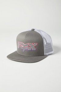 FOX CZAPKA JUNIOR CORKSCREW SNAPBACK PEWTER