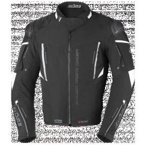 BUSE Kurtka motocyklowa Rocca czarna/biała