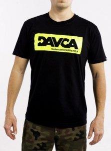 DAVCA T-shirt fluo logo