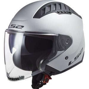 KASK LS2 OF600 COPTER SOLID MATT SILVER
