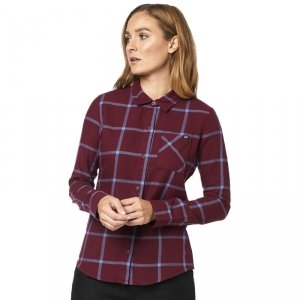 FOX KOSZULA LADY ROOST FLANNEL CRANBERRY