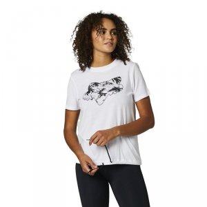 FOX T-SHIRT LADY PALMS WHITE