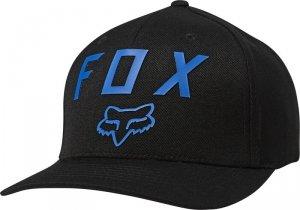 FOX CZAPKA Z DASZKIEM NUMBER 2 FLEXFIT BLACK/BLUE