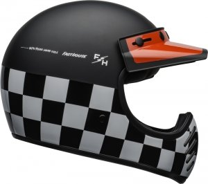 BELL KASK OFF-ROAD FASTHOUSE CHECKERS BLACK/WHI/R