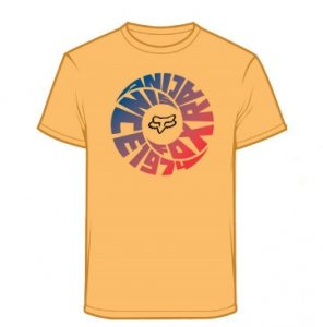 FOX T-SHIRT JUNIOR REVOLVER SUNBURST