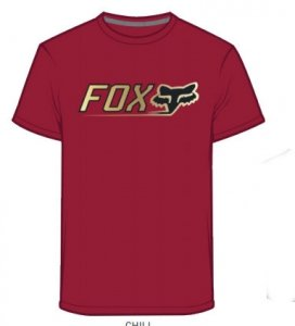 FOX T-SHIRT CNTRO TECH CHILI