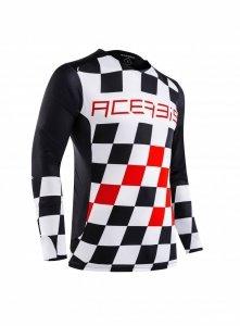 Acerbis bluza off-road Start & Finish MX czerwony