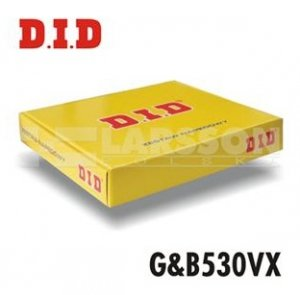 Komplet napędowy DID+JT 530 VX złoto-czarny Triumph 1050 Tiger 07-10 - 2053321 -