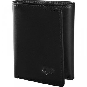 FOX PORTFEL TRIFOLD LEATHER BLACK OS