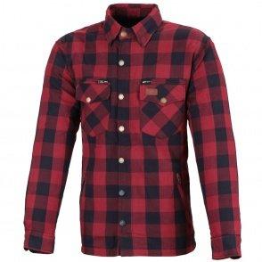 BUSE Koszula bawełniana M11 Karo czerwona