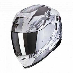 SCORPION KASK INTEGRALNY EXO-520 AIR COVER WH-SILV