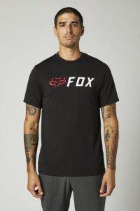 FOX T-SHIRT APEX TECH BLACK/RED