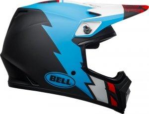 BELL KASK OFF-ROAD MX-9 MIPS STRIKE MATTE BL/BLU/W