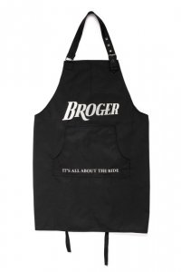 BROGER FARTUCH BBQ APRON BLACK BR-BBQ-APRON_01_OS