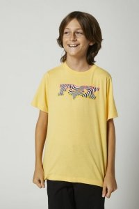 FOX T-SHIRT JUNIOR CORKSCREW SUNBURST