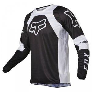 FOX BLUZA OFF-ROAD 180 LUX BLACK/WHITE