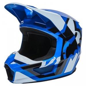 FOX KASK OFF-ROAD JUNIOR V1 LUX BLUE