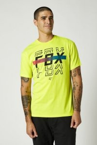 FOX T-SHIRT CRANKER FLO YELLOW