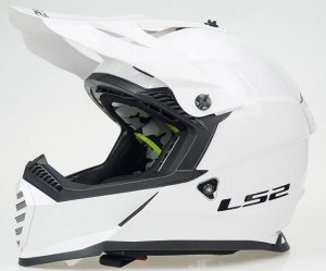 KASK LS2 MX437 FAST EVO SOLID WHITE