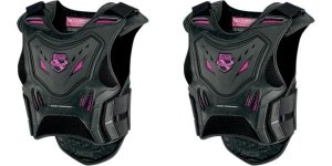 ICON WOMENS BUZER VEST BLACK/PINK =$
