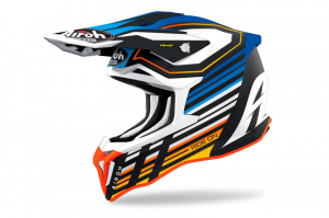 AIROH KASK OFF-ROAD STRYCKER SHADED BLUE MATT
