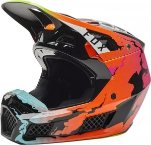FOX KASK OFF-ROAD V-3 RS PYRE LE MULTI
