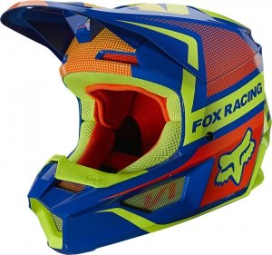 FOX KASK OFF-ROAD V-1 OKTIV BLUE