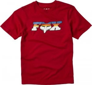 FOX T-SHIRT JUNIOR FHEADX SLIDER CHILI